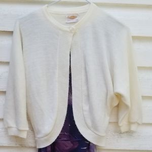 Sweet Vintage Cream Cardigan
